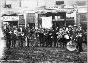 Monroe Community Band 1910