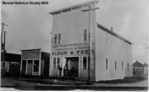 Park Place Produce, later the community hall